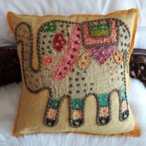 Other - Elephant Pillow Cover